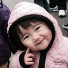 菊池 莉菜(りな) ちゃんの顔