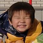 篠崎 晴真(はるま)くんの顔