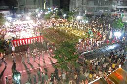 『結城盆踊り大会』の画像