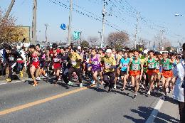 『結城シルクカップロードレース大会』の画像