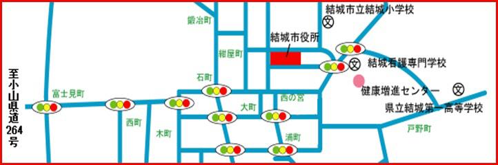 『事務移転地図』の画像