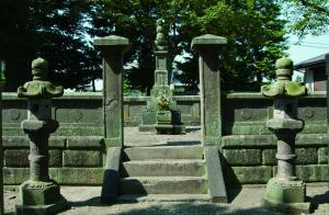 親鸞ゆかりの玉日姫の墓