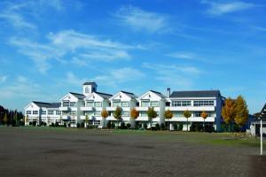 蔵づくりの結城東中学校