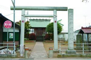 『結城七社の神明神社』の画像