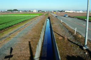 沃野潤す結城用水
