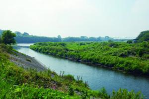 久保田河岸と鬼怒川