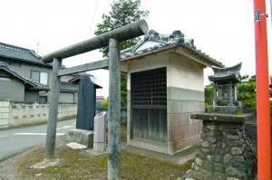『鹿窪の宗七神社』の画像