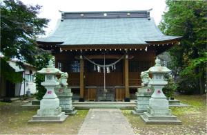 鹿窪の香取神社といこいの家