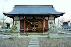 諏訪神社と太々神楽