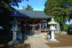 『粕礼の鷲神社』の画像