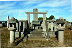 『天保の改革の水野忠邦の墓』の画像