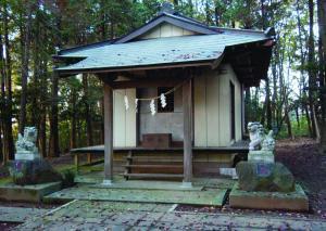 香取神社と弁財天