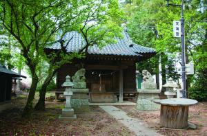 『東茂呂の天神さま』の画像