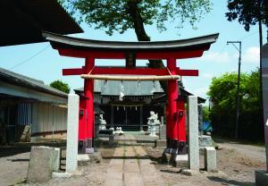 『江川大町西の谷神社』の画像