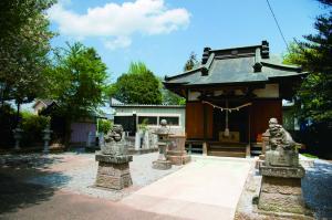 『大木北の神明神社と大日如来』の画像