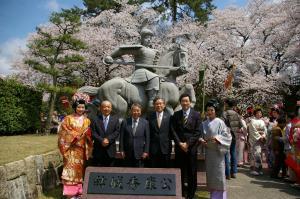 『福井市01_2012春まつり来訪』の画像