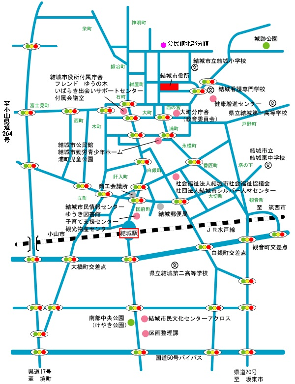北部分館地図
