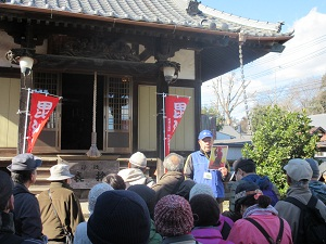 『結城市観光ボランティアガイド_七福神めぐり1』の画像