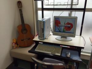 パソコンとギター