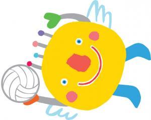 『『いばラッキー「バレーボール」』の画像』の画像