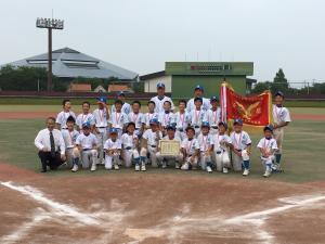 北関東学童野球大会表彰式