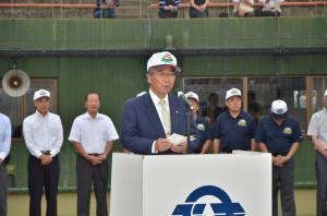 第67回北関東中学校野球大会開会式