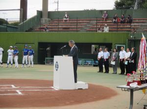20160811第31回結城・城西杯近隣学童野球大会
