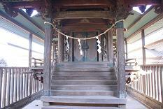 小森大桑神社本殿