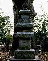 結城朝光の墓