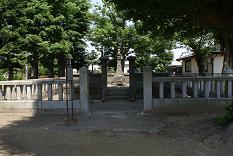 玉日姫の墓