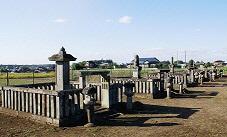 山川水野家墓所