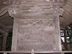 貴船神社本殿彫刻