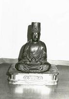銅造虚空蔵菩薩坐像