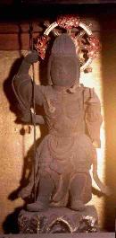 木造毘沙門天立像