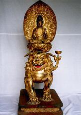 木造文殊菩薩像