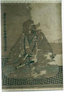 紙本著色武者肖像画