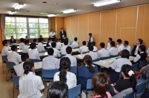 20160906 小中学生訪問