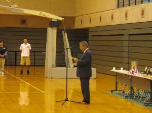 20160917結城市長杯近隣バスケットボール大会中学生