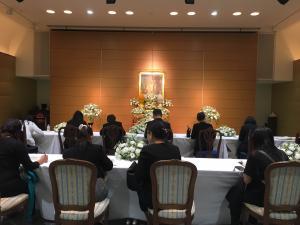 20161015タイ国王崩御追悼記帳