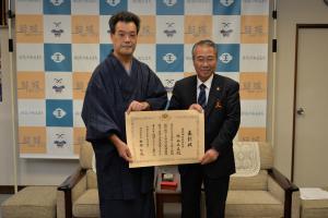 20161208 経済産業省大臣表彰受賞報告