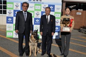 20161216 警察訓練犬全国大会内閣総理大臣賞受賞報告