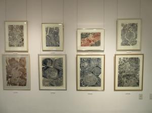 『関根章・政枝木版画展_1』の画像