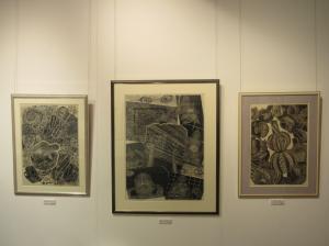 『関根章・政枝木版画展_3』の画像