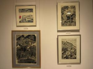 『関根章・政枝木版画展_4』の画像