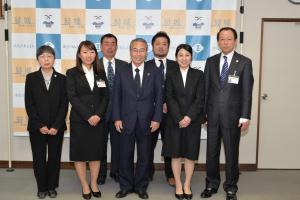 20170329 海外青年協力隊(派遣・帰国隊員)表敬訪問
