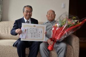 20170427 100歳祝い 生井政夫