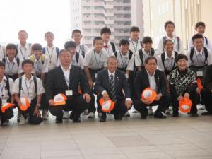 『20170805 広島平和記念式典中学生派遣事業』の画像