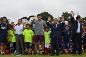 『20170811 鹿窪運動公園サッカー場オープニング記念イベント』の画像