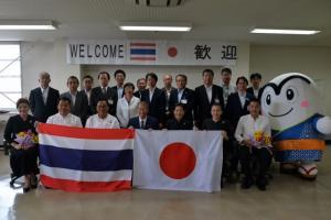 『20170821 タイ王国メーサイ市長及び幹部職員 表敬訪問』の画像