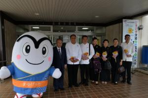 20170821 タイ王国市長及び幹部職員 歓迎セレモニー